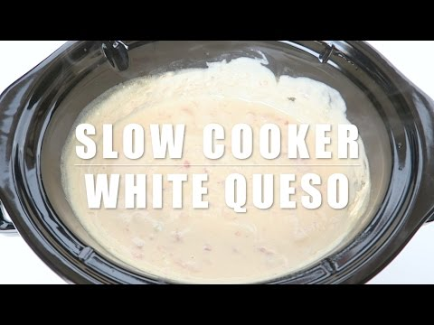 Crock-Pot® Slow Cooker White Queso Dip Recipe