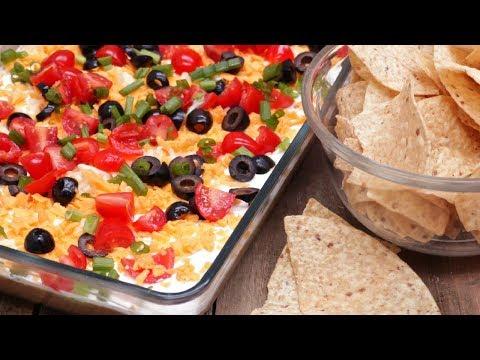 Easy Taco Dip (No-Cook Appetizer)