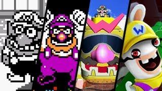 Evolution of Wario Battles (1992 - 2017)