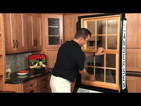 Boston Video Production - How to tilt clean & remove screen for an Andersen Woodright window