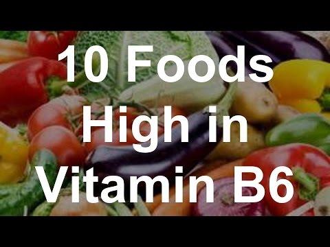 10 Foods High in Vitamin B6