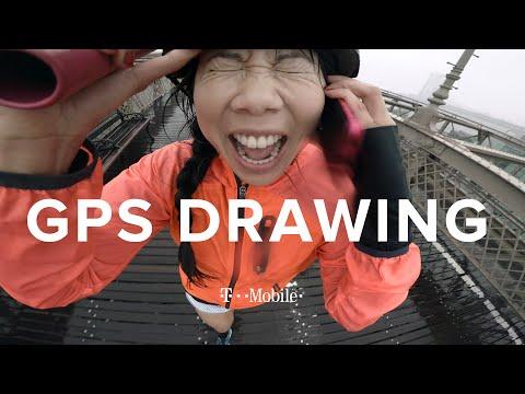 The GPS Drawing Challenge: NYC //