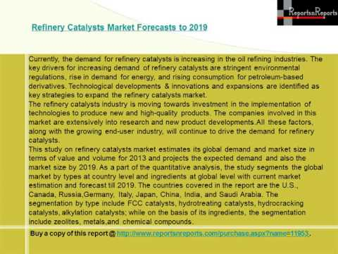 World Refinery Catalysts Market by Ingredient and Geography Forecast to 2019