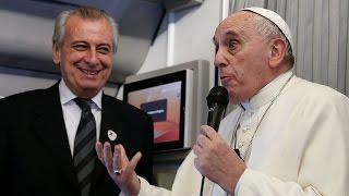 Thế Giới Nhìn Từ Vatican 18 – 24/02/2016: Họp báo trên chuyến bay từ Ciudad Juárez về Rôma