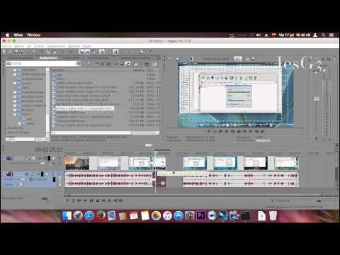 Sony Vegas Pro11 Primeros Pasos_Herramientas de Edición en Mac OS P3