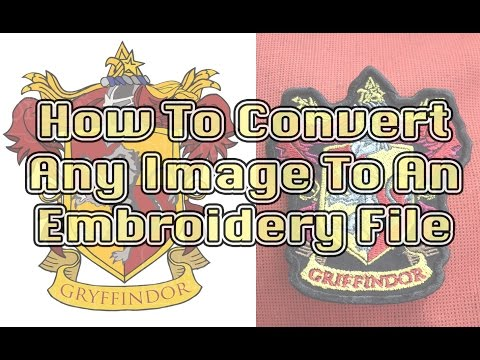 Digitizing Images for Embroidery - Easy How To Guide