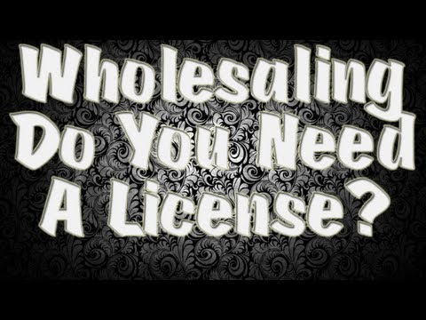 House Flipping 101 - Do You Need A License to Wholesale Houses   Jamel Gibbs