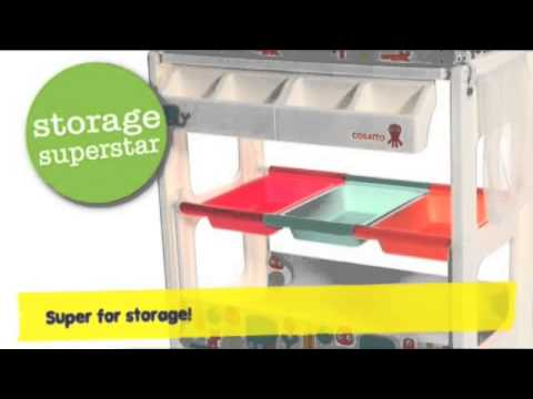 Cosatto Easi Peasi Changing Station: How to guide and features video