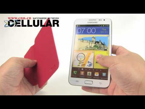 Samsung Galaxy Note iFace stick-on flip cover