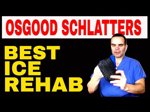 How to Rehabilitate Osgood Schlatters - Best Ice Strap
