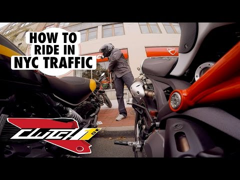 TIPS - HOW TO RIDE NYC TRAFFIC ON A DUCATI MONSTER| NYC VLOG