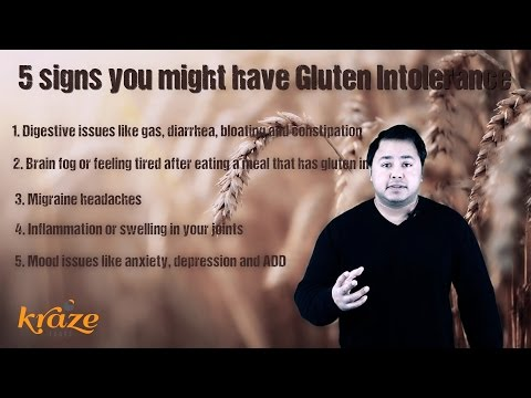 5 Signs You Might Have A Gluten Intolerance