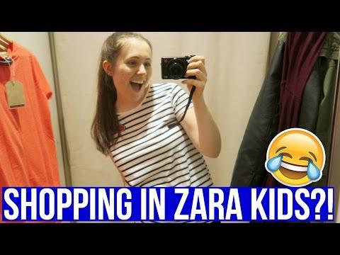 SHOPPING IN ZARA KIDS?!