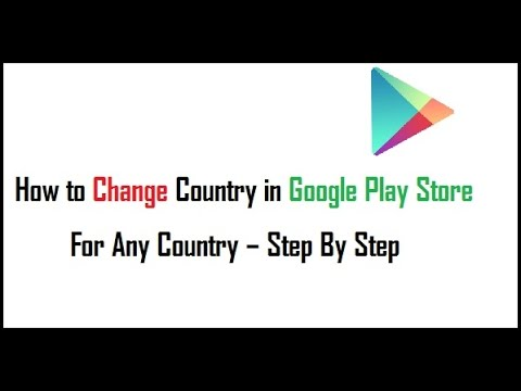 Change your Country on Google wallet for Google play store..[Bangla]