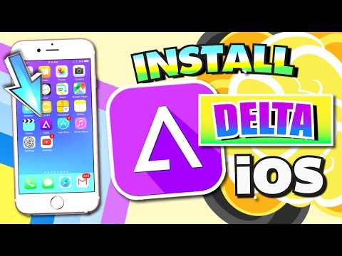 Get DELTA Emulator FREE iOS 10 - 10.2.1/9 (NO JAILBREAK) iPhone, iPad, iPod (GBA, SNES, N64 & More!)
