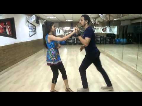 Easy 10-Step Salsa Routine   Salsa with Rajat & Sandhya