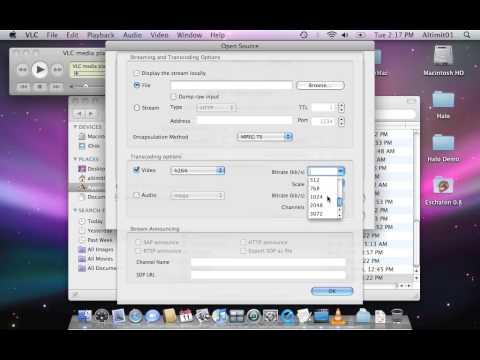 VLC screen recording