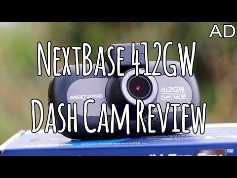 Nextbase 412GW Dashcam review