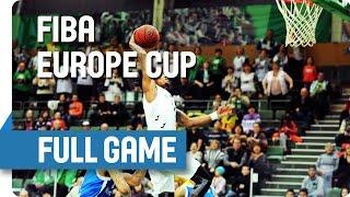 Khimik (UKR) v Mons-Hainaut (BEL) - Full Game - Group T - FIBA Europe Cup