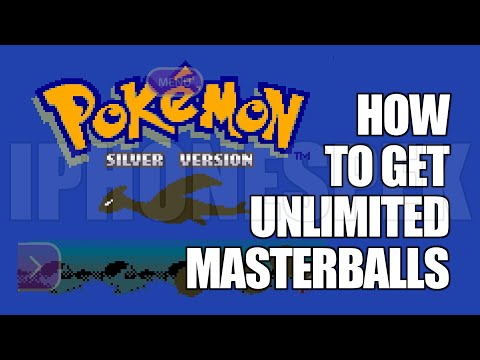 How to get Unlimited Masterballs Pokemon Silver GBA4IOS iPhone iOS 11 10 9 iPad