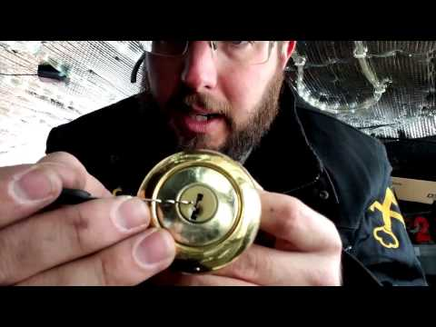How To Rekey a Kwikset Titan Lock Knob, Has No Screws or Detent To Remove
