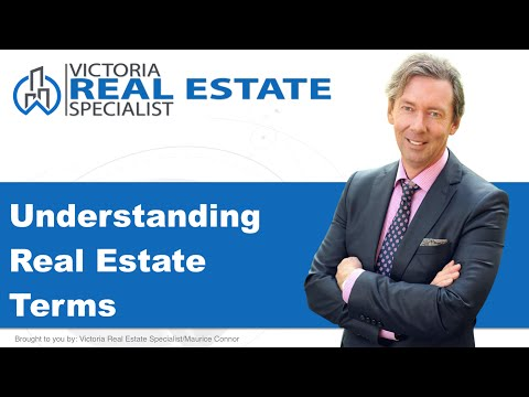 *Understanding Real Estate Terms* | Real Estate Definitions  | Victoria, BC Real Estate