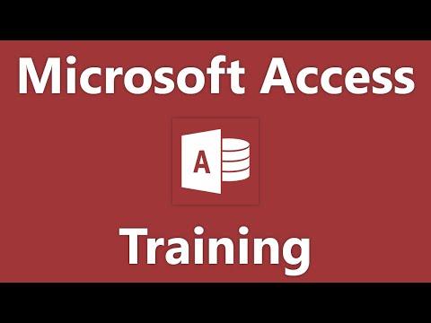 Access 2016 Tutorial Crosstab Queries Microsoft Training
