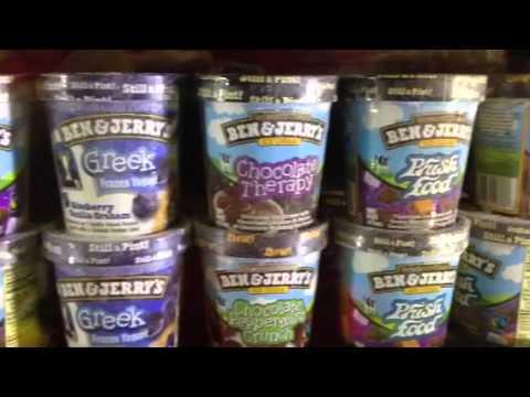 The Walmart Ben and Jerry's ice cream range