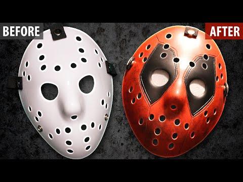 How to Make a Deadpool Jason Mask - Friday The 13th DIY Tutorial