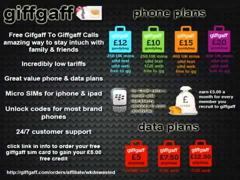 Sim Cards_ (Tutorial) Free Giffgaff Sim Card With Unlimited Internet _ Texts, Get Yours Here