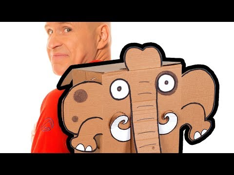 Craft Ideas with Boxes - Elephant | DIY on BoxYourSelf