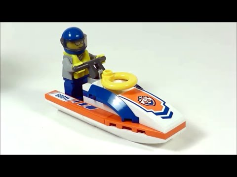 Advanced LEGO Jet Ski (How to Build)