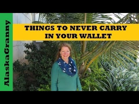Things To Never Carry In Your Wallet