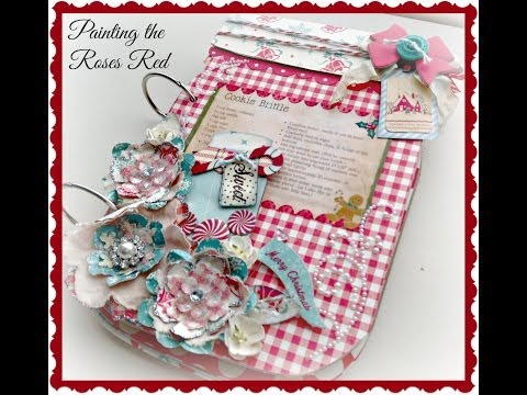 Holiday Mason Jar Recipe Album Tutorial