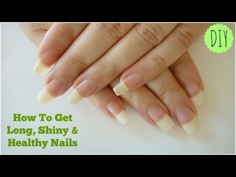 How To Get Long, Shiny & Healthy Nails At Home! - IndianNailArt