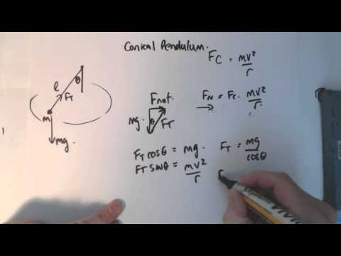 10 circular  motion 1 conical pendulum