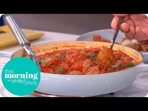 Gino D'Acampo Makes Mamma Alba's Meatballs! | This Morning