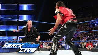 Shinsuke Nakamura takes out Dolph Ziggler: SmackDown LIVE, April 11, 2017