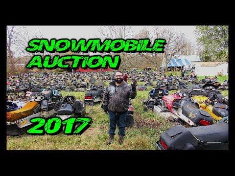 Snowmobile Auction 2017