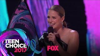 "Melissa Benoist Accepts The ""Choice TV Actress: Action"" Award | TEEN CHOICE"