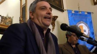 """Napoli - """"Il resto della settimana"""", il nuovo romanzo di Maurizio De Giovanni (06.03.15)"""