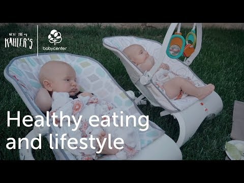 Healthy eating and lifestyle | We're the Kahlers | Ep. 2