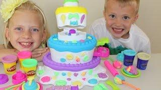 Play-Doh Sweet Shoppe Kue Gunung