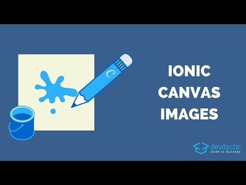 Canvas Drawing + Saving Images as Files with Ionic