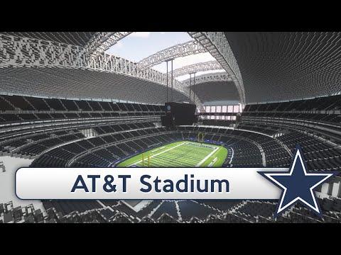 Minecraft - MEGABUILD - AT&T Stadium (Dallas Cowboys) + DOWNLOAD [Official]