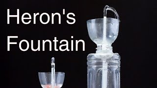 Make Non Stop Heron's Fountain With Plastic Bottle