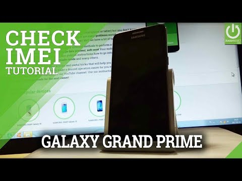 How to Read IMEI in SAMSUNG Galaxy Grand Prime - IMEI Info