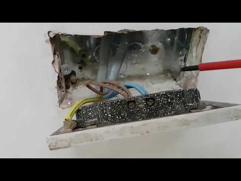 How to install a double socket