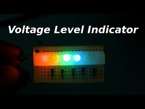 Voltage Level Indicator Circuit
