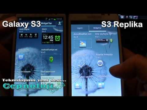 Samsung Galaxy S3 Vs Galaxy S3 Replica